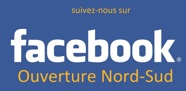 Facebook Ouverture Nord-Sud